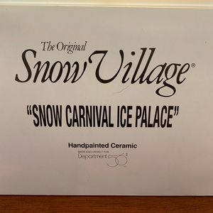 Snow Carnival Ice Palace